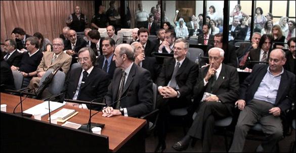 García Tallada  en el banquillo de los acusados